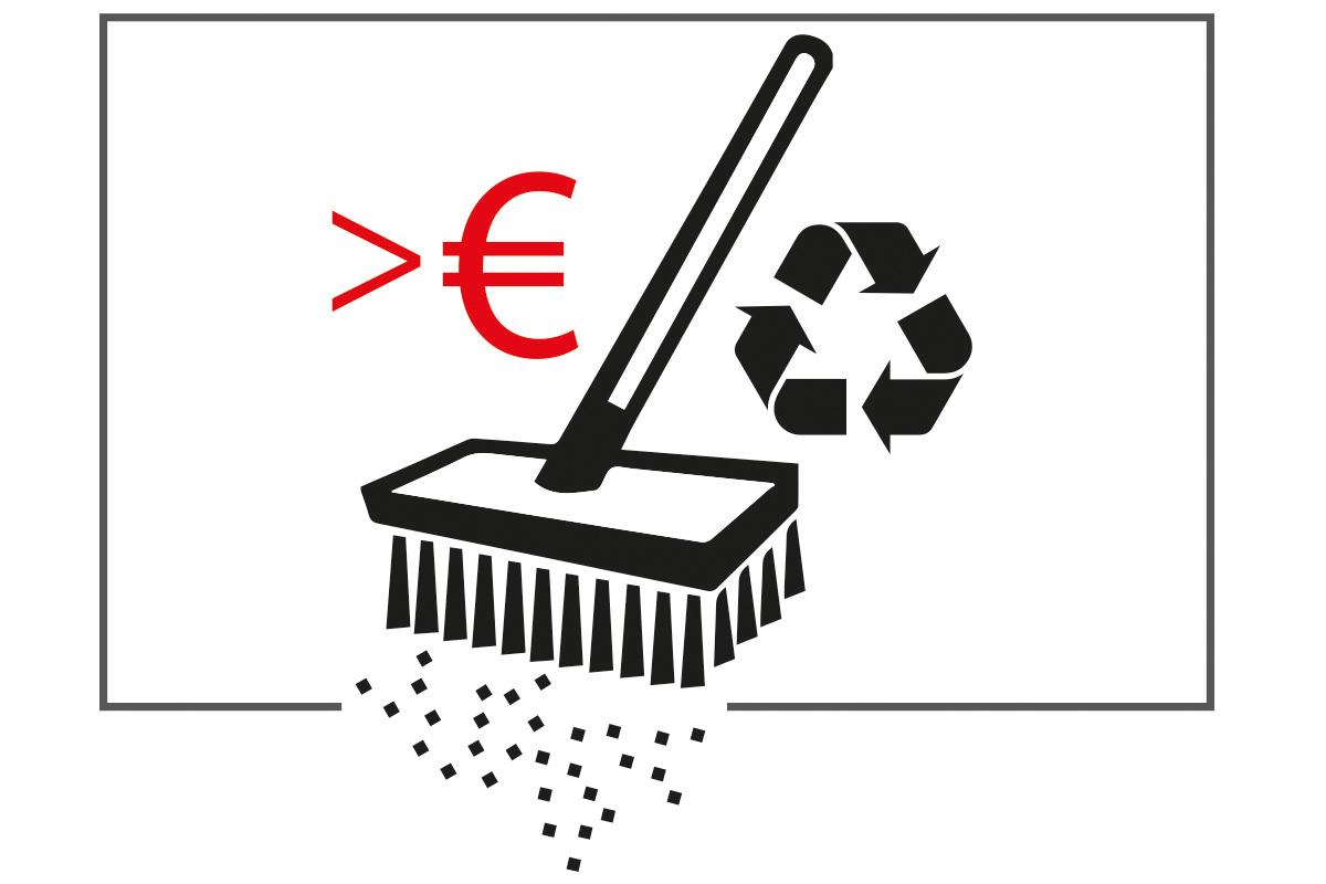 Splitt-hohe-Recyclingkosten
